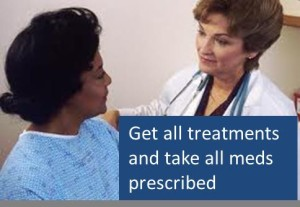 Following all prescribed treatments is a must for helping your social security disability claim.