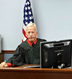 Kevin Dugan at work as Social Security Disability Judge